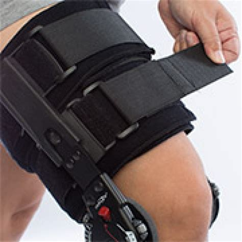 Knee L Aw 5 donjoy x act rom lite post op knee brace knee supports orthopedic supports