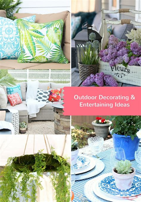 backyard entertaining ideas how to protect your outdoor cushions the happy housie