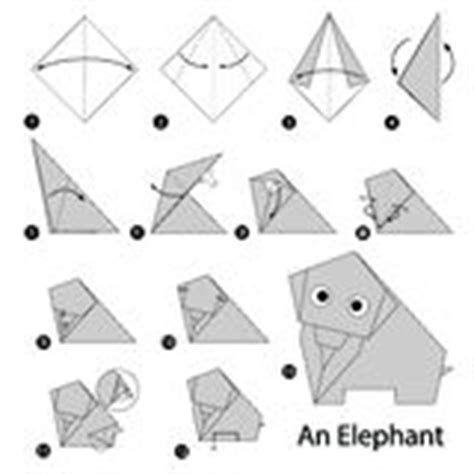 Step By Step Origami Elephant - step by step how to make origami an elephant