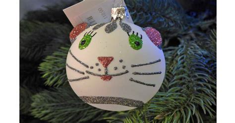 find a purrfect cat christmas tree ornament here