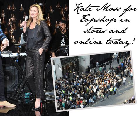 Topshop Sale Launches Today by The Kate Moss Topshop Collection Goes On Sale Today