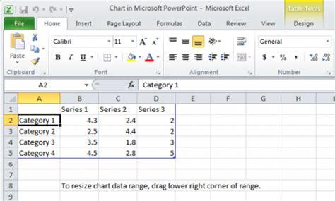hacer layout en excel 187 un vistazo a los gr 225 ficos de powerpoint
