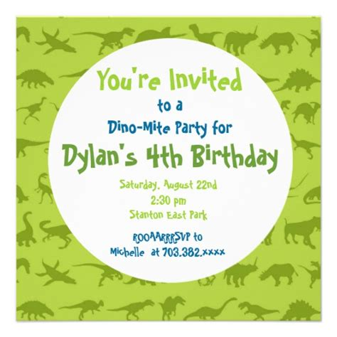40th birthday ideas birthday invitation templates dinosaurs