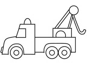 tow color printable truck coloring pages coloring me