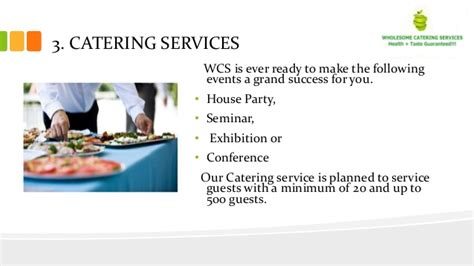home based catering business plan