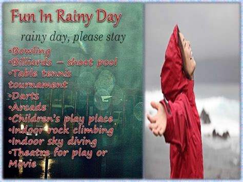 what to do for on day what things to do on a rainy day