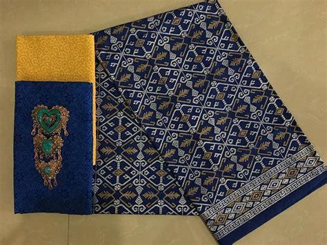 Kain Batik Prada Embos 9i0 kain batik pekalongan batik prada kombinasi embos ka3 13