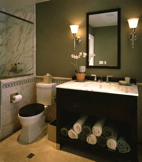 dark green bathroom sage green and brown bathroom www imgkid com the image
