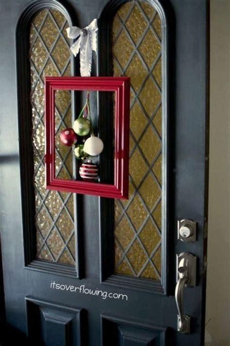 create  door wreath  front door area modernholic