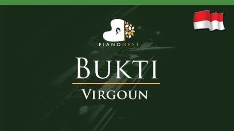 virgoun bukti virgoun bukti song lower key piano