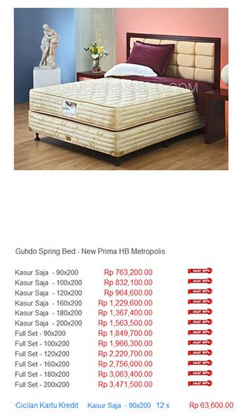 Kasur Guhdo Di Bandung kasur guhdo harga bed termurah di indonesia