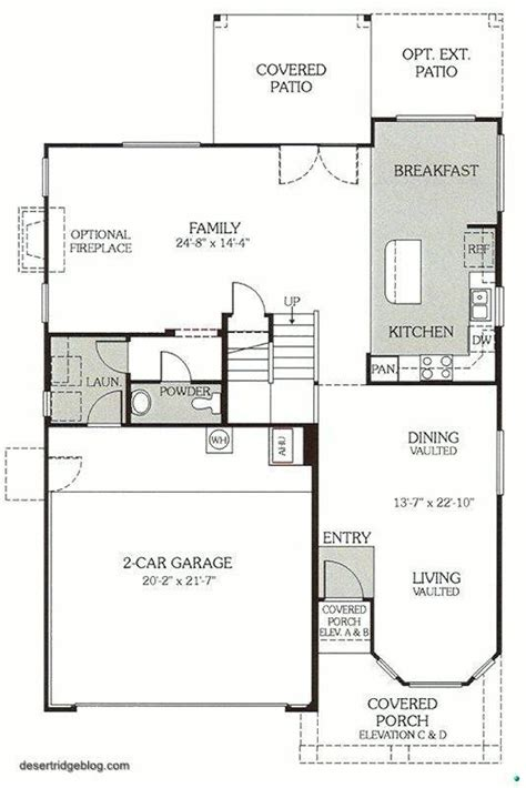 Continental Homes Floor Plans | continental homes payson floor plan house design plans