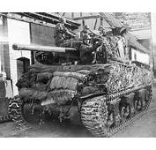 M4 76 Mm Sherman Tank Sandbagged And Camouflauged  World