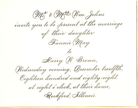 Invitation Letter Of Marriage Wedding Invitation Wording Marriage Anniversary Invitation Letter Sle