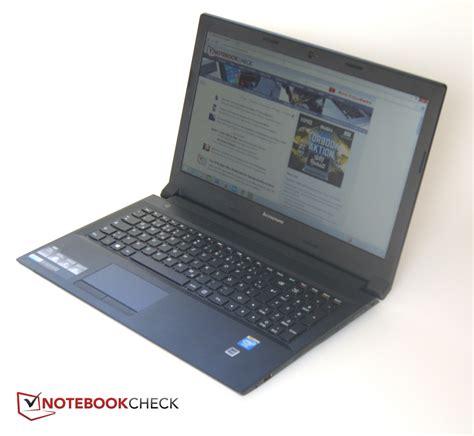 Laptop Lenovo Laptop Lenovo lenovo b50 30 notebook review notebookcheck net reviews