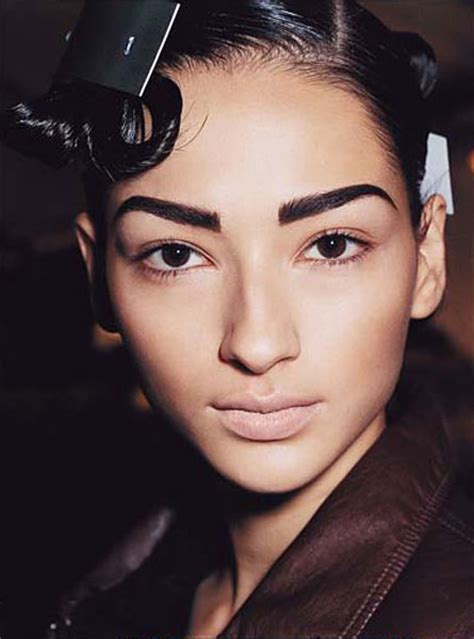 dark eyebrow trend confessions of a beauty addict when good brows go bad