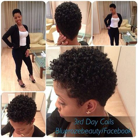 natural tapered style with faded sides taperednaturalhair
