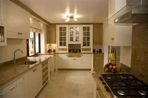 Painted Oak Kitchen Llanrhystud   Mark Stone's Welsh