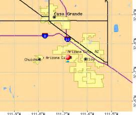 arizona city limits map map arizona arizona city