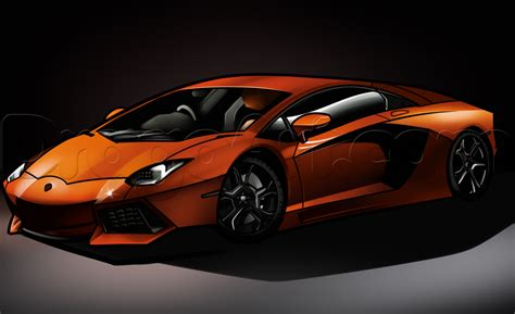 how to a how to draw a lamborghini aventador lamborghini aventador step by step cars draw