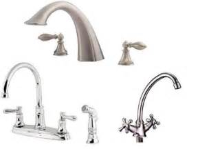 kitchen faucet types home and kitchen design ideas