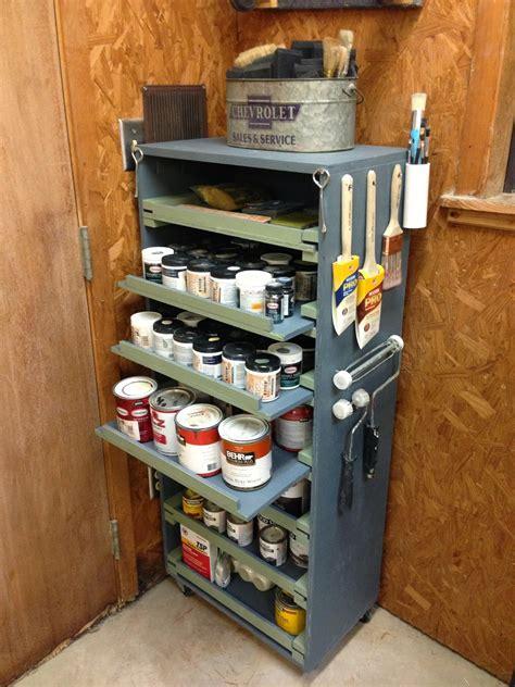 wilker dos diy paint storage cabinet
