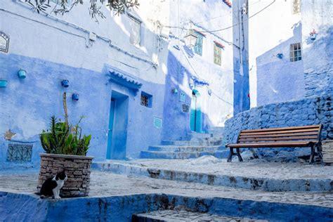 dos  moroccos blue city international traveller