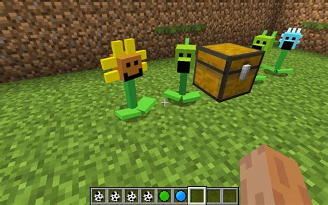 Mod Game Plant Vs Zombie | minecrart mods minecraft plants vs zombies mod 1 6 2 1 5 2