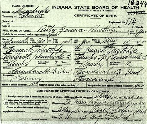 County Indiana Birth Records Indiana Birth Certificate Search Choice Image Birth