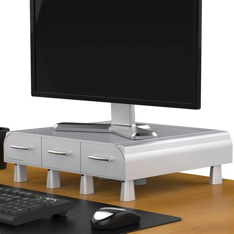 desk computer stand mind reader pc laptop imac monitor stand and