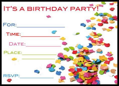 3 gorgeous free printable birthday invitations for kids