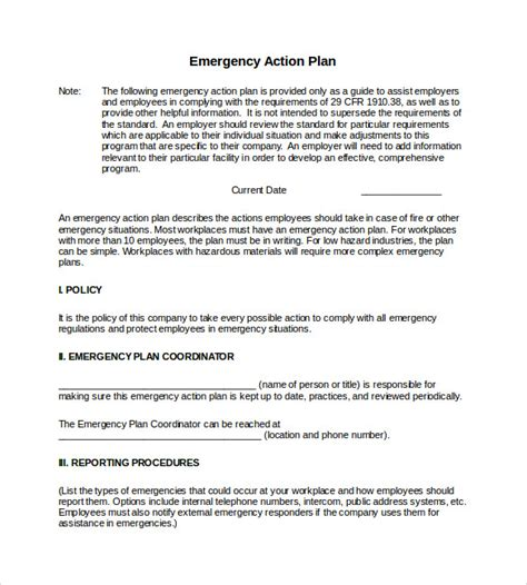 emergency action plan murraywood swim racquet club