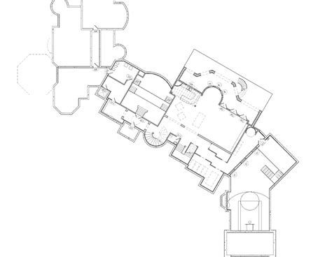 mansion home floor plans 25 000 square foot mansion w floorplans mansions more