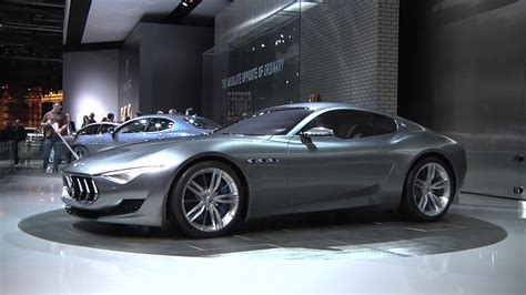 maserati alfieri maserati plans to launch alfieri and granturismo by 2018
