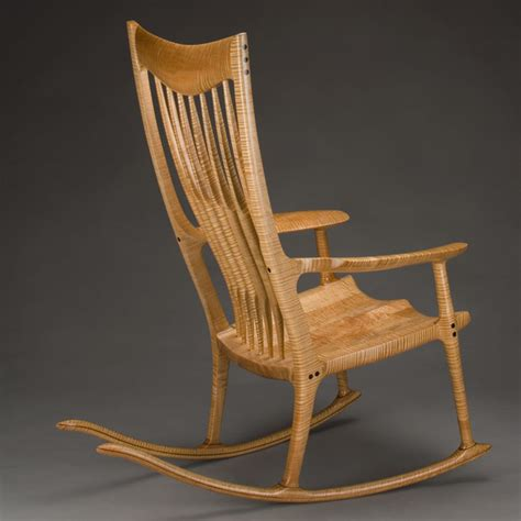 classic maloof style rocking chair by morrison