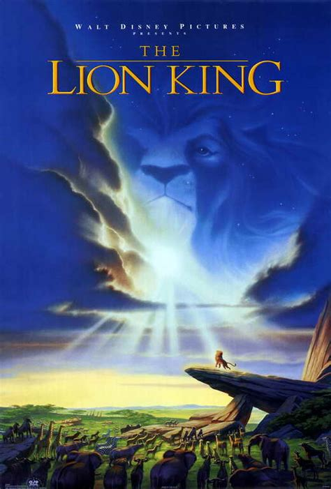 video film lion king lion king the movie posters from movie poster shop