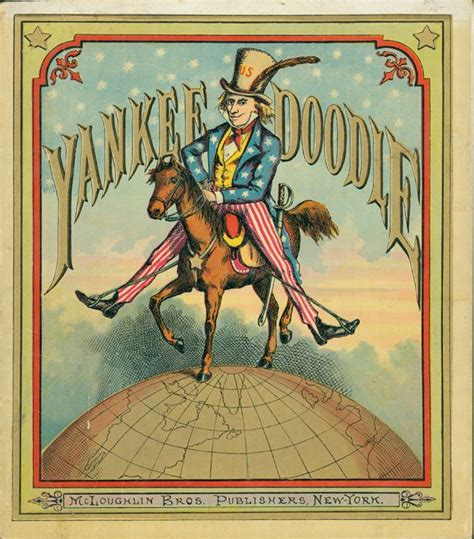 yankee doodle mcloughlin bros book cover yankee doodle by