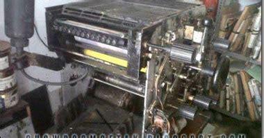 Onderdil Mesin Fotocopy mesin toko 820 di jual harga 38 juta showroom cetak