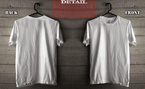 Kaos Distro Merah Gambar N Putih template mock up polosan kaos depan belakang kaskus