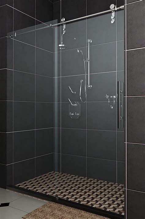 Sliding Glass Shower Door by Factors To Consider When Installing A Sliding Shower Door