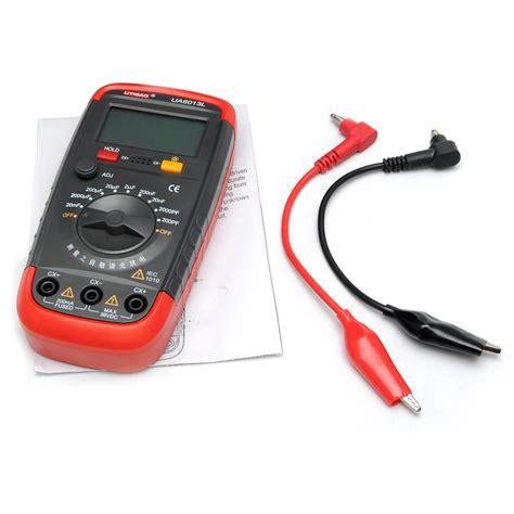 capacitor tester ua6013l auto range digital capacitor capacitance tester meter