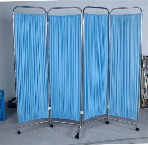 bed screen curtain folding doors room dividers hospital bed screen curtain