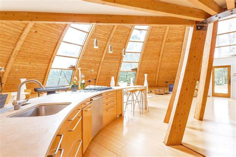 sloping dome home design interior design ideas
