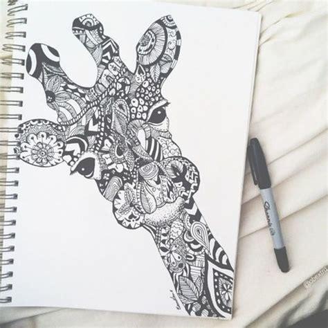 how to draw a giraffe doodle doodle giraffe