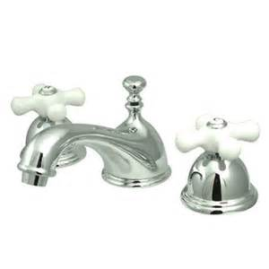 elements of design widespread bathroom faucet with