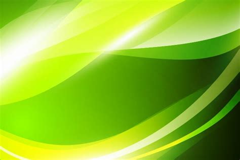 Free Green by Abstract Vector Green Waves Background Abstract
