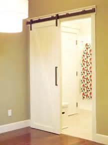 diy sliding bathroom door creative diy sliding doors tutorials creative door