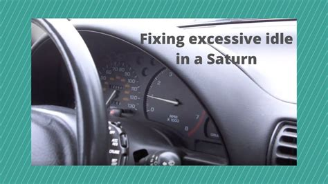 saturn idle problemmov youtube