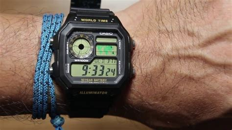 Casio Ae 1200wh 1bv Original casio standard ae 1200wh 1bv best seller