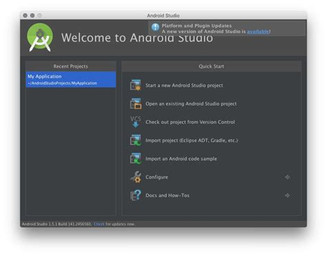 android studio 2 0 среда для разработки приложений android studio обновилась до версии 2 0